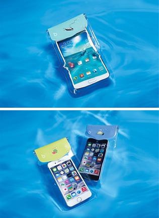 [bikit] waterproof 핸드폰 방수팩*
