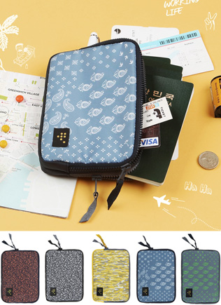 가족 여권 파우치 - Weekade Family Passport Pouch